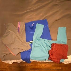 Lot of 4 athletic leggings XL